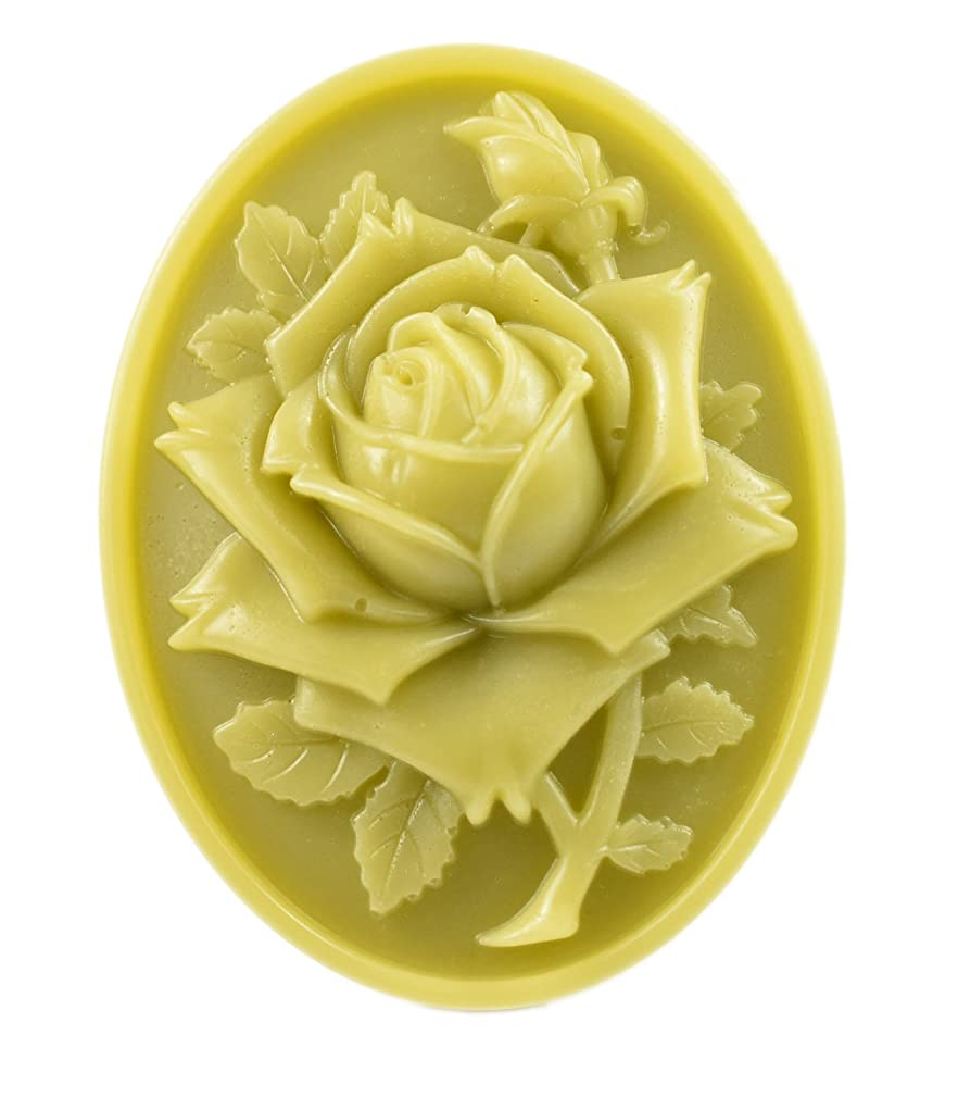 Longzang S530 3D Rose Silicone Soap Mold 3D Handmade Craft Mould