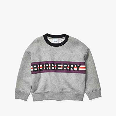 Burberry Kids Marlon Sweater (Little Kids/Big Kids) (Grey Melange) Boy