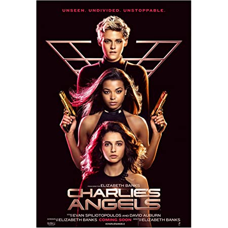 Charlie/'s Angels 2019 Movie Art Silk Canvas Poster Home Decor Print 24x36 inch