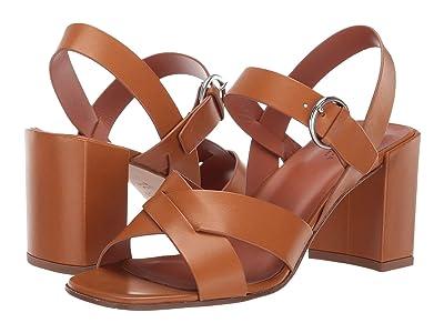 Via Spiga Opal-C (Tan Vachetta) High Heels
