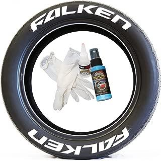 falken tire lettering