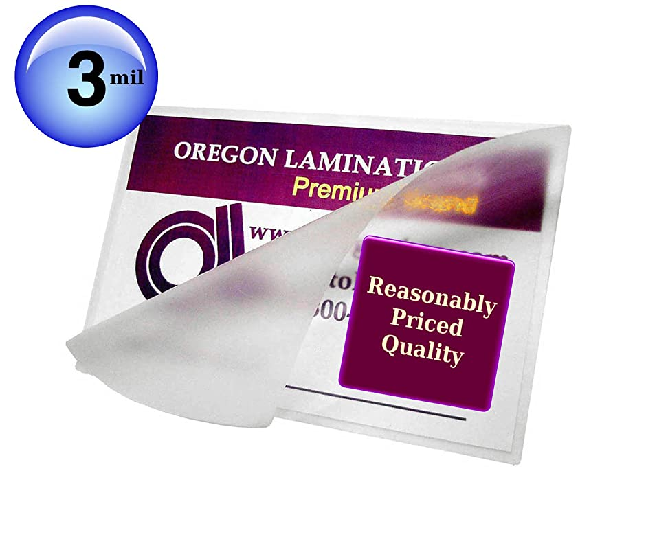 十年息子ライオン12 x 18 Laminating Pouches 3 Mil Menu Laminator Sleeves Qty 100 by Oregon Laminations Company [並行輸入品]