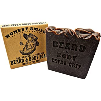 Honest Amish Beard and Body Soap (Extra Grit)
