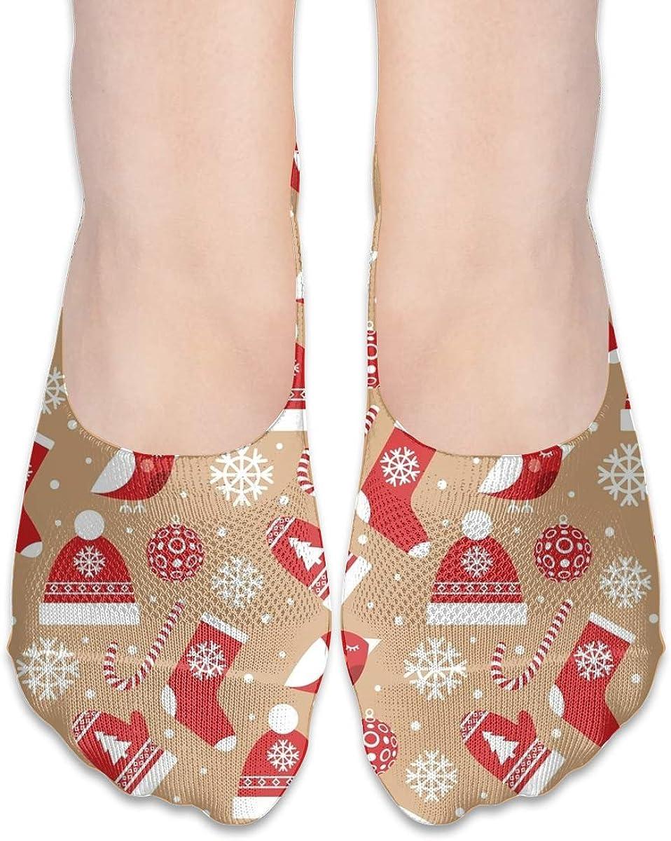 No Show Socks Women Men For Christmas Sock Clothes Decoration Flats Cotton Ultra Low Cut Liner Socks Non Slip