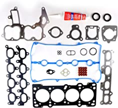 SCITOO Compatible with Cylinder Head Gasket Kits fit 90-00 Ford Escort Mercury Mazda Protege 1.8L DOHC 16v Engine Cylinder Head Gaskets Automotive Replacement Gasket Set