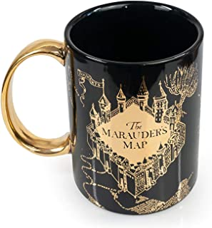 Oversized Harry Potter Marauder's Map Ceramic Coffee Mug | Official Harry Potter Merchandise | Holds 64-Ounces