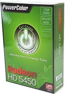 PowerColor Go 。グリーンAMD Radeon hd54501GB ddr3VGA/DVI/HDMIロープロファイルPCI - Eビデオカード(UEFI読み取り