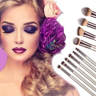 XUANOU New 10PCS Cosmetic Makeup Brush Brushes Foundation Powder Eyeshadow Brush Set