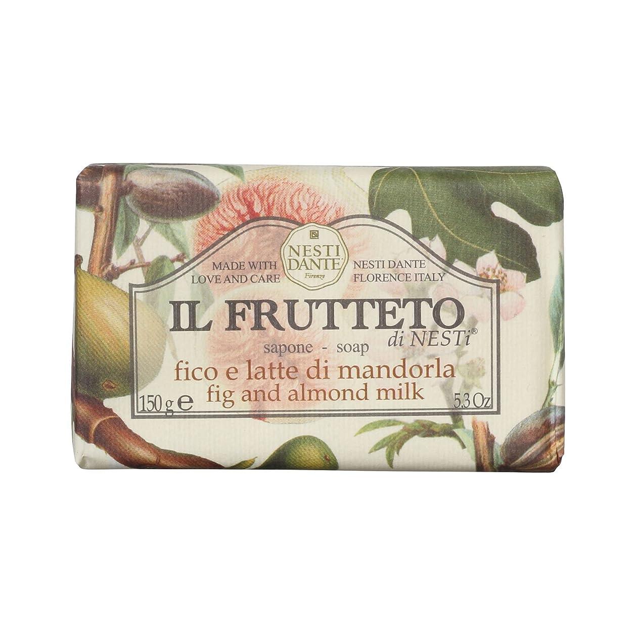 広々誕生日紛争Nesti Dante ネスティダンテ フルッテートソープ フィグ&アーモンドミルク 150g