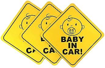 IT/'S A BOY Car Ribbon Magnet baby shower funny newborn