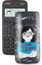 $21 » Casio FX-82SPXII Iberia Scientific Calculator with Jess Wade in Lid 293 Functions 24 Levels of Parenthesis - Grey