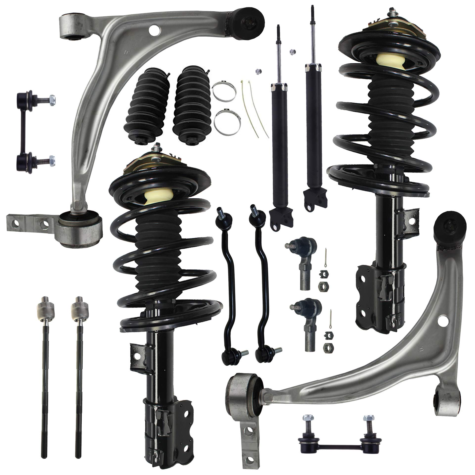 For 2005-2009 Hyundai Tucson Kia Sportage 16pc Front Rear Strut Suspension Kit