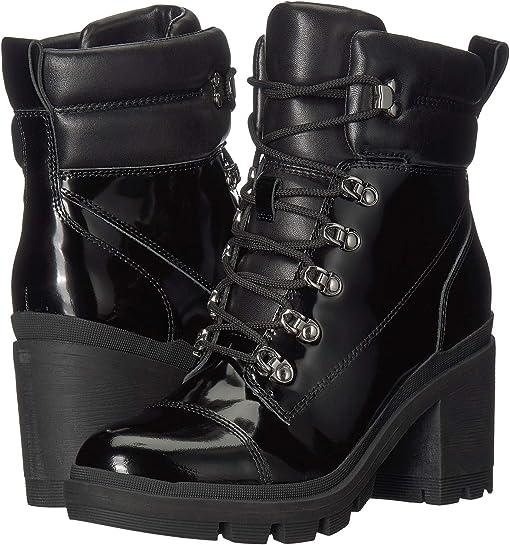 Black Multi Leather