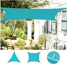 PENGFEI Luifel voor buiten, waterdicht, 90% UV-blokkering, voor tuin, terras, party, zonwering, luifeldak, twee vormen 4x5...