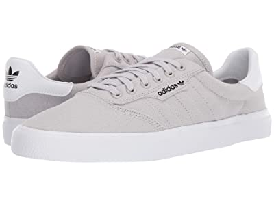 adidas Skateboarding 3MC (Light Solid Grey/Light Solid Grey/Off-White) Men