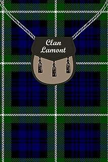 Clan Lamont Tartan Journal/Notebook