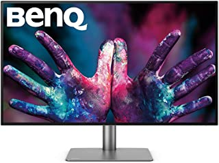 BenQ PD3220U Thunderbolt 3 Monitor for Graphic Design, 31.5 Inch 4K HDR UHD, P3