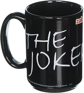 Zak Designs BTMF-8522 Batman Comics Joker - Taza de cerámica, tamaño grande, multicolor