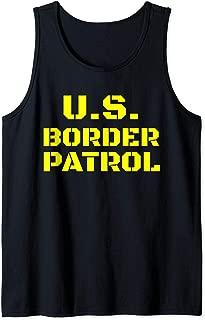 Halloween Border Patrol Immigration Enforcement Costumes Tank Top
