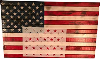 50 Stars Painting Stencil American Flag Template, Witey Star Stencil Plate for Painting on Wood, Fabric, Paper,Airbrush Reusable Mylar Template