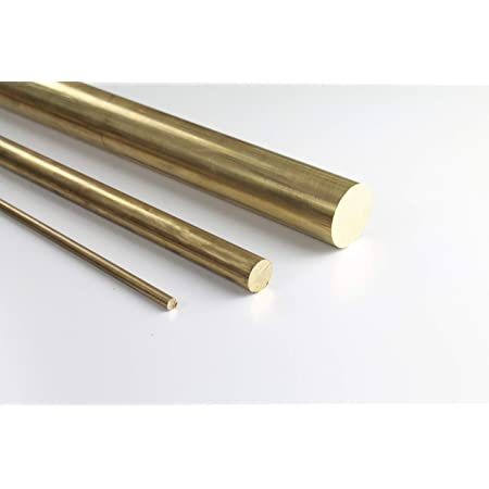 B/&T Metall Messing MS 58 Vierkantstangen 40x40 mm,L/änge ca 50 mm +0//- 5 mm 5 cm