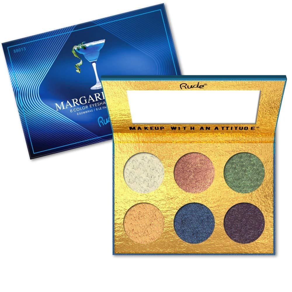 見積りマングルキモいRUDE Cocktail Party 6 Color Eyeshadow Palette - Margarita Azul (並行輸入品)