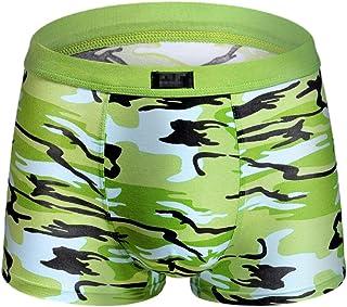 Mens Breathable Comfortable Cotton Cozy Underwear Boxer Briefs