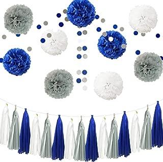 royal blue and gray