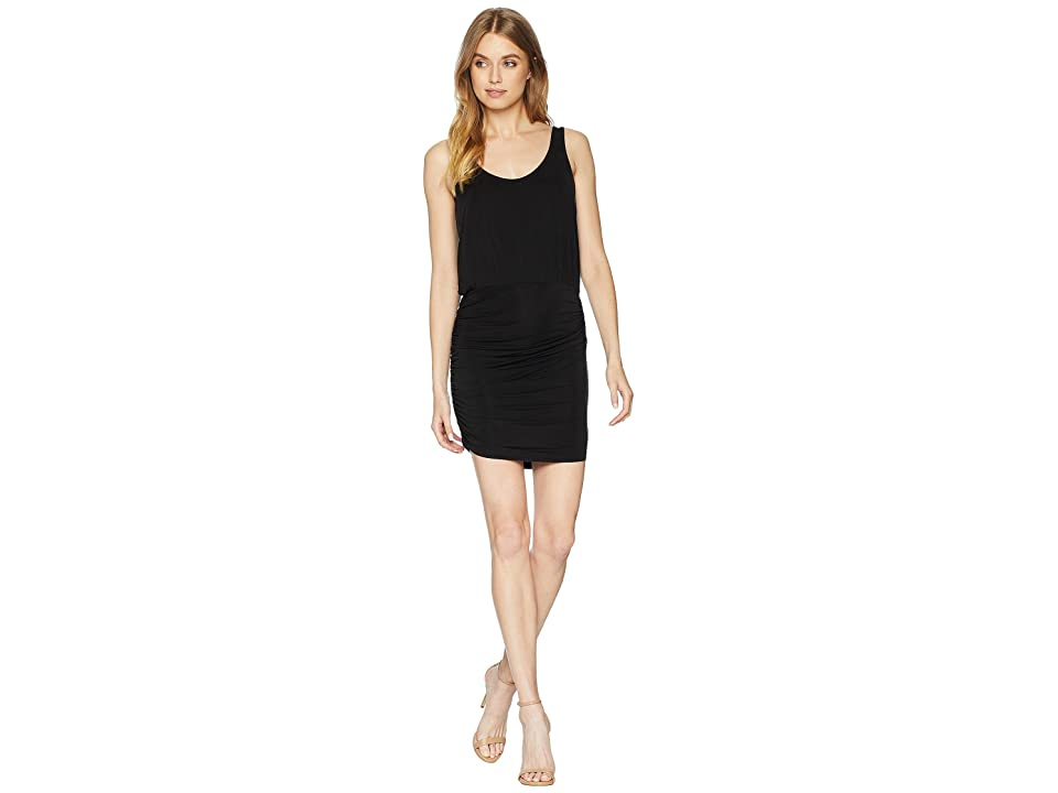 Young Fabulous & Broke Mariah Dress (Solid Black) Women