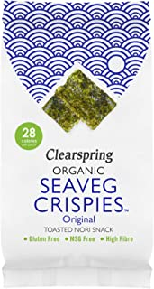 Snack BIO de Alga Nori tostada Clearspring 5 g