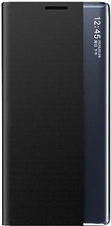 FINEONE hoes voor Xiaomi Redmi Note 9 Pro/Note 9S / Pro Max Smart Flip telefoonhoes met standaard functie beschermhoes teg...