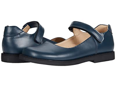 Elephantito Scholar Mary Jane (Toddler/Little Kid/Big Kid) (Blue 1) Girls Shoes