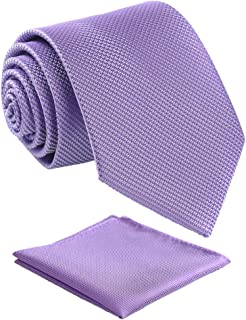 Mens Solid Color Tie,Handmade Neckties With Multiple Colors+Gift Box