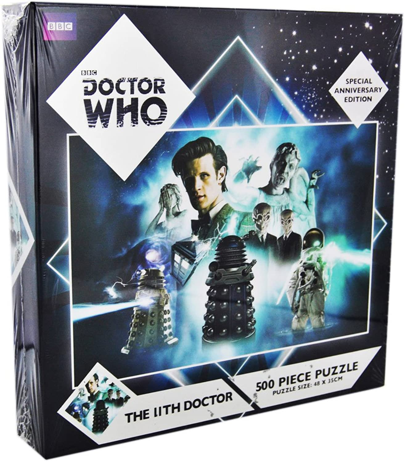 THE 11TH DOCTOR 500 PIECE PUZZLE SPECIAL ANNIVERSARY EDITION