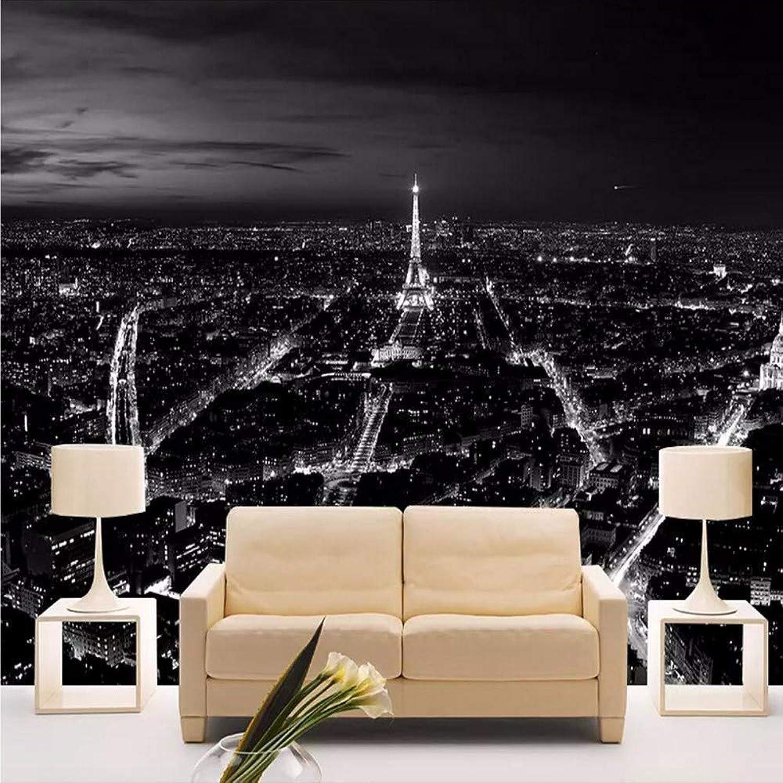 El ultimo 2018 Fushoulu Papel Tapiz Fotográfico Fotográfico Fotográfico 3D Personalizado París Torre Eiffel Paisajes Decorativos Mural Moderno Restaurante Papel Tapiz De Sala Para Parojoes 3 D D-200X140Cm  descuento de bajo precio