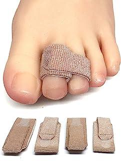 Best ZenToes Broken Toe Wraps 4 Pack Cushioned Bandages Hammer Toe Separator Splints Review