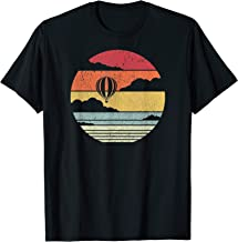 Hot Air Balloon Shirt. Retro Style T-Shirt