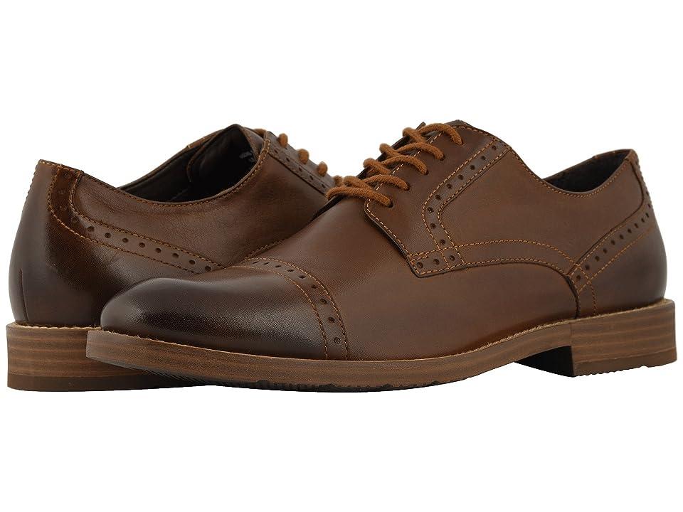 Nunn Bush Middleton Cap Toe Oxford (Brown) Men
