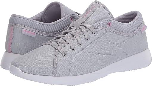 Cold Grey/Jasmine Pink/White