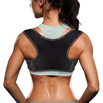 Upper Back Brace for Clavicle Support and Protecting Pain from Neck Back /& Shoulder,06 VALOIN Adjustable Back Straightener-Best Back Posture Corrector for Men and Women