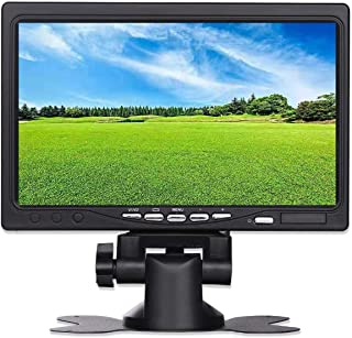 UOTOO 7 inch Small Portable HDMI VGA 1024x600 HD LCD Monitor for PC Laptop, TV, Security Camera, Raspberry pi 3 Display Screen Monitor, Video HDMI Monitor, Build in Speaker
