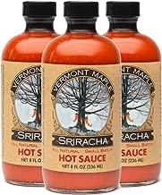 Vermont Maple Sriracha All Natural Hot Sauce 3-pack