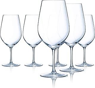Chef & Sommelier L9232 Domaine 26 Ounce Bordeaux Wine Glass, Set of 6, Clear