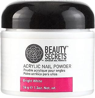 Beauty Secrets Acrylic Powder Bright White Cali Compliant Bright White - Cali