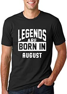 Best Legends are Born in White Design | Birthday Month Gift Idea | Mens Fashion Graphic T-Shirt Review