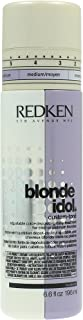 Redken Blonde Idol Custom-Tone Violet Conditioner for Cool Blondes, 6.6 Ounce