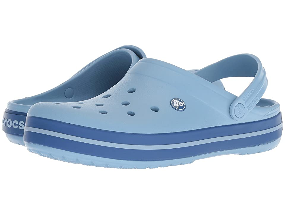 Crocs Crocband Clog (Chambray Blue/Blue Jean) Clog Shoes