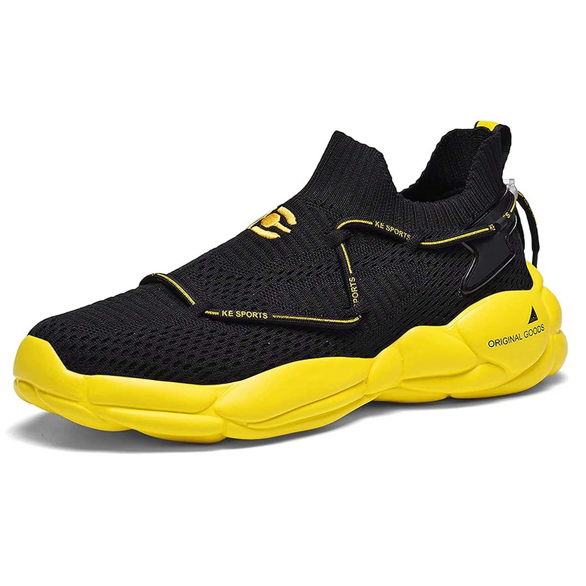 毎年カフェテリア曖昧な[Visionreast] 超軽量 スニーカー ランニングシューズ おしゃれ メンズ レディース ジョギング ウォーキングシューズ 運動靴 スポーツ クッション性 トレーニングシューズ ジム 通気 幅広 通学 通勤 日常着用 24.5cm~27.0cm