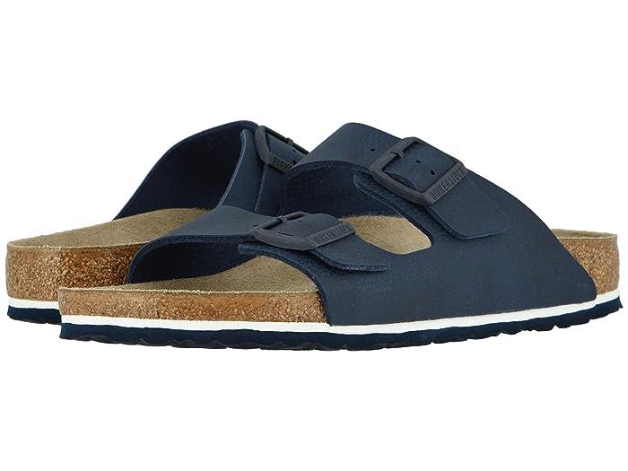 Birkenstock  Arizona (Desert Soil Blue Birko-Flortm) Mens Shoes