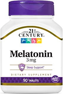 21st Century Melatonin 3 mg - 90 Tablets